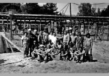 Budowa ośrodka wypoczynkowego kopalni Jankowice w Kątach Rybackich – 1974