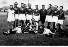 Drużyna seniorów KS Szyby Jankowice - lata 30-te ub wieku