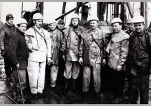 Zakończenie głębienia szybu 6 kopalni Jankowice – 1976