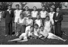 Drużyna Palantowa kopalni Jankowice z lat 1945-1948