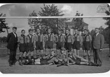 Drużyna piłkarska juniorów KS Blücher  w Boguszowicach - 1931