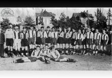 Drużyna piłkarska seniorów KS Blücher w Boguszowicach - 1930/1931