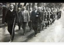 Reprezentacja KS Szyby Jankowice w Boguszowicach - 1939