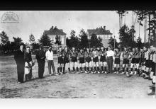 Drużyna KS Szyby Jankowice w Boguszowicach - 1935