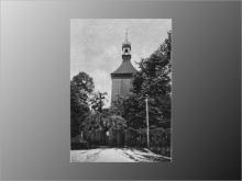 Stary kościół św. Wawrzyńca.  (fot. Gość Niedzielny - 1936)