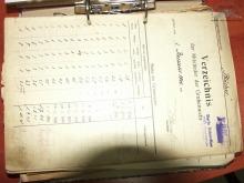 Spis członków ratownicta górniczego kopalni Blücher  w 1940 r.