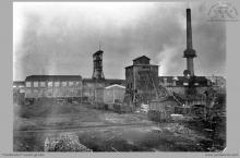 """1927 - """"Szyby Blüchera"""" widok ogólny - (foto ze zbiorów kopalni/H. Konska)"""
