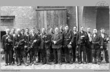 """1935 - Stacja ratownicza """"Szybów Jankowice"""", powstała w 1920 roku - (foto ze zbiorów kopalni/L. Benisza)"""