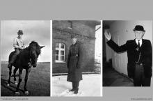 1942 - 1) Henryk Konsek z ostatnim koniem, który pracował na dole naszej gruby. 2) H. Konsek, jak wielu młodych górników został powołany do niemieckiej armii, walczył na froncie i przebywał w sowieckiej niewoli. 3) H. Konsek - Ślązak Roku 1994 - (foto ze zbiorów kopalni/H. Konska)