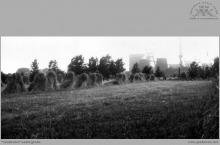 1968 - widok z okna Domu Górnika nr 2  w Boguszowicach Osiedlu - (foto ze zbiorów A. Vogel)