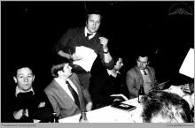 """1975 - Zebranie Rady Robotniczej KWK """"Jankowice"""" - (foto ze zbiorów użytkownika strony)"""
