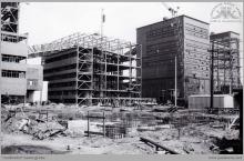1977 - 3) Rozbudowa obiektów i urządzeń Zakładu Przeróbki Mechanicznej Węgla – (foto ze zbiorów kopalni)