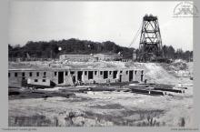 1978 - 1) Rozbudowa szybów V i VI – (foto ze zbiorów kopalni)