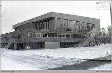 1983 - Hala widowiskowo-sportowa w zimowej scenerii – (ze zbiorów kopalni/fot. Zenon Keller)