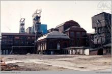 1987 - Przygotowany plac do budowy nowego szbu 8 - (ze zbiorów kopalni/fot. W. Mazur)