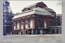 1987 - Budynek maszyny wyciągowej, parowej szybu I przed wyburzeniem - (ze zbiorów kopalni/fot. W. Mazur)