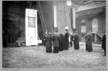 1991 - 3) Uroczyste poświęcenie szybu 8 przez ks. biskupa Damiana Zimonia - (foto ze zbiorów kopalni)