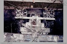 2000-2006 - Niemiecki kombajn VME do drążenia dowierzchni w obudowie kotwiowej - (foto ze zbiorów L. Admczyka)