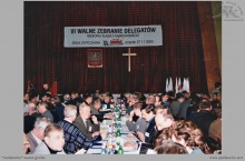 2000 - VI Walne Zebranie Delegatów Regionu Śląsko-Dąbrowskiego 'Solidarności' - (foto ze zbiorów kopalni)