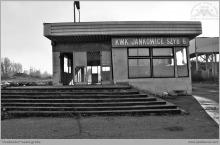 2006 - Portiernia bramy głównej szybu VI przed wyburzeniem - (foto T.Gacek)