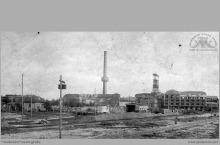"""1927 - """"Szyby Blüchera"""" widok od północy - (foto ze zbiorów kopalni/L. Adamczyka)"""