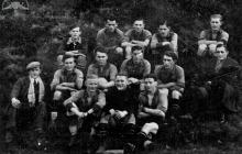 Drużyna piłkarska KS Szyby Jankowice - 1936