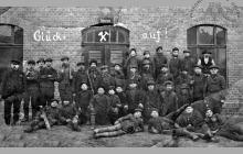 """Stacja ratownicza na """"Feldmarschall Blüchershächte"""""""