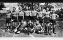 Drużyna piłkarska KS Blücher w Boguszowicach - początek lat 30-tych ub. wieku