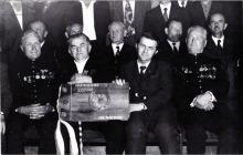 KWK Jankowice - Spotkanie zasłużonych osób dla kopalni w okresie powojennym z okazji XXX lecia PRL - 1975