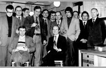 Spotkanie okolicznościowe - lata 80-te ub. wieku