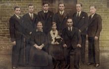 Rodzina Dronszczyków z Boguszowic - 1932