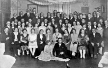 """Spotkanie urzędników kopalni """"Szyby Jankowice"""" – 1938"""