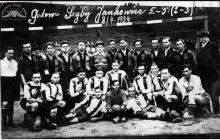 Drużyna KS Szyby Jankowice w Boguszowicach - 1934
