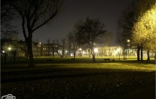 Paruszowiec - park nas stawem  (foto tedd55 - listopad 2012)