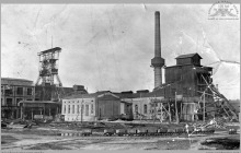 """1927 - """"Szyby Blüchera"""" widok od zachodu - (foto ze zbiorów kopalni/L. Adamczyka)"""