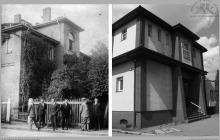 1929 - 1) Spotkanie mniejszości niemieckiej. 2) Ten sam budynek, zwany NOT-em - (foto ze zbiorów własnych)