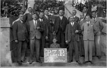 """1935 - Koło Polskiego Związku Palanta przy """"Szybach Jankowice"""" - (foto ze zbiorów kopalni/W.Konkola)"""