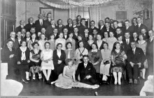 """1938 - Spotkanie urzędników kopalni """"Szyby Jankowice"""" – (foto ze zbiorów kopalni/L. Benisza)"""