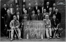 """1941 - I Kurs strzałowych na kopalni """"Blücherschächte"""" – (foto ze zbiorów kopalni/P. Głusiec)"""