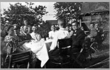 """1940 - Kierownictwo tzw. Ortgrupy (dzielnicy) do której należała kopalnia """"Blücherschächte"""" – (foto ze zbiorów kopalni/H. Konska)"""