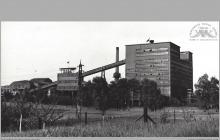 Lata 60-te ub. wieku - Zakład Przeróbki Mechanicznej Węgla - (foto ze zbiorów Domu Kultury w Boguszowicach Osiedlu)