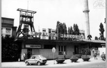 """Lata 70-te ub. - Widok na kopalnię """"Jankowice"""" – (foto ze zbiorów M. Ochwata)"""