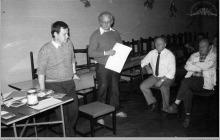 """1972 - Komisja sędziowska zawodów oddziałowych na strzelnicy KWK """"Jankowice"""" - (foto ze zbiorów użytkownika strony)"""