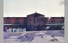 1987 - Budynek starej łaźni łańcuszkowej - (ze zbiorów kopalni/fot. W. Mazur)