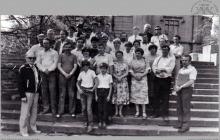 1988 - Pracownicy kopalni wraz z rodzinami na wycieczce w Kórniku - (foto ze zbiorów M. Semana)