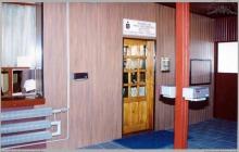 1993 - Nowo otwarta placówka PKO BP w budynku portierni bramy głównej kopalni – (foto ze zbiorów kopalni)