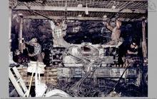 2000-2006 - Od 2000 roku stosowano obudowę kotwiową dowierzchni ścianowej - (foto ze zbiorów L. Admczyka)