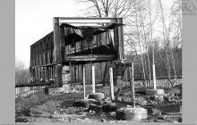 2006 - Pomost osobowy, łączący budynek łaźni z nadszybiem #VI - (foto T.Gacek)