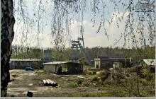 2008 - Demontaż wieży wyciągowej szybu IV, peryferyjnego - (foto ze zbiorów Piotra)