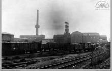 """1927 - """"Szyby Blüchera"""" widok ogólny - (foto ze zbiorów kopalni/W. Podleśnego)"""